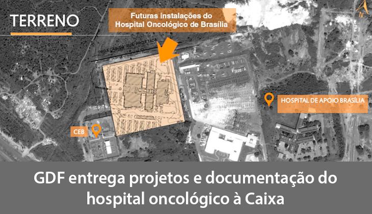 GDF entrega projetos e documentação do hospital on