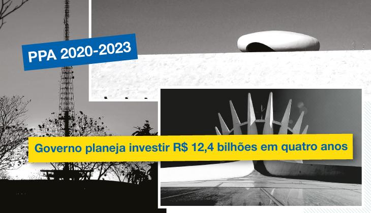 Governo planeja investir R$ 12,4 bilhões em quatro