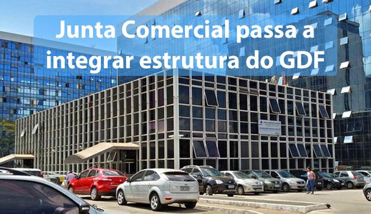 Junta Comercial passa a integrar estrutura do GDF