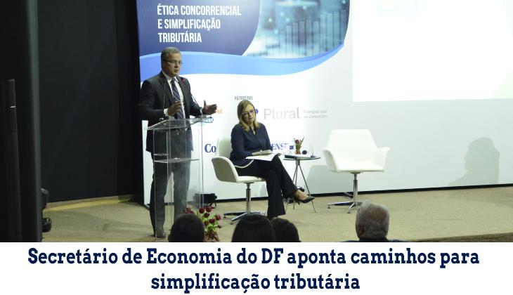 Secretário de Economia do DF aponta caminhos para