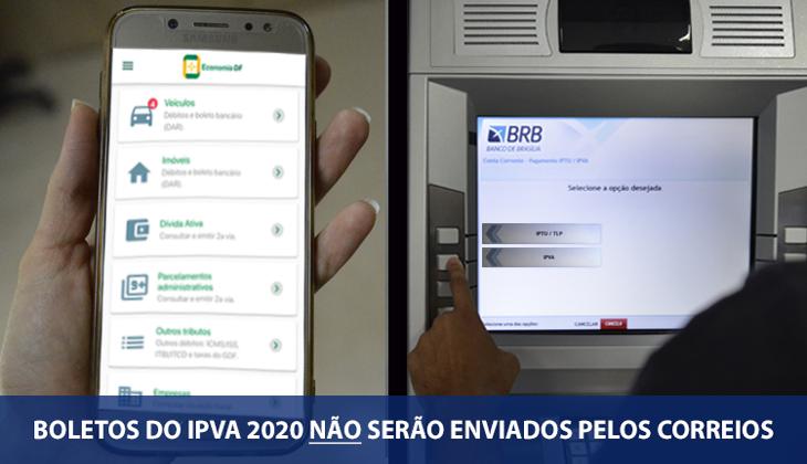 Boletos do IPVA 2020 não serão enviados pelos Corr