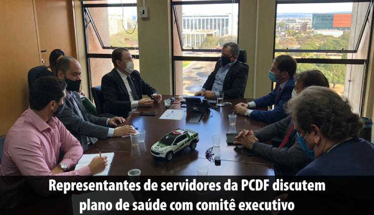 Representantes de servidores da PCDF