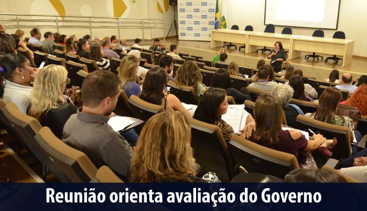Reunião orienta avaliação do Governo