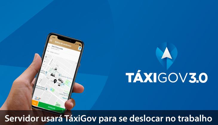 Servidor usará TáxiGov para se deslocar no trabalh